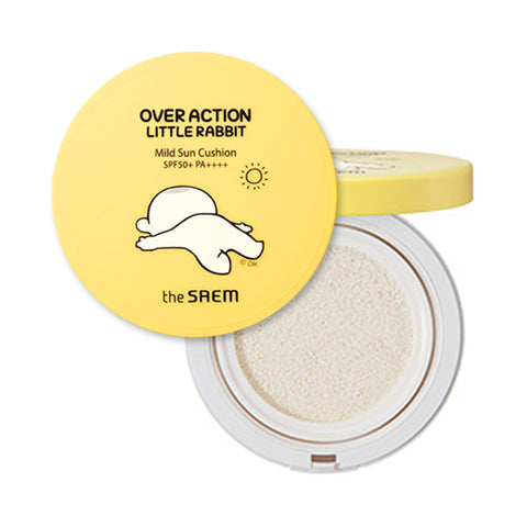 THESAEM  Eco Earth Power Mild Sun Cushion (Over Action Rabbit Edition) - 15g