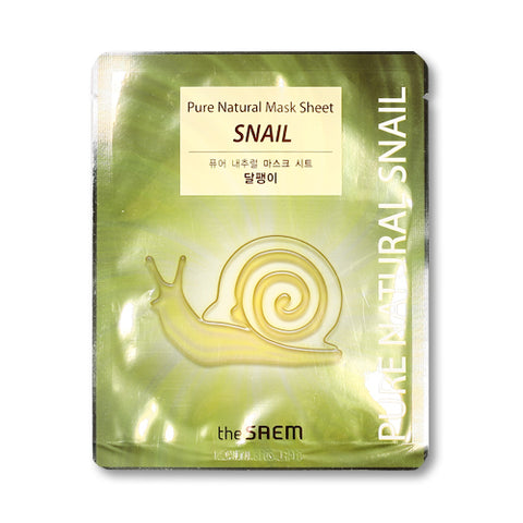 THESAEM / Pure Natural Mask Sheet - 1pcs