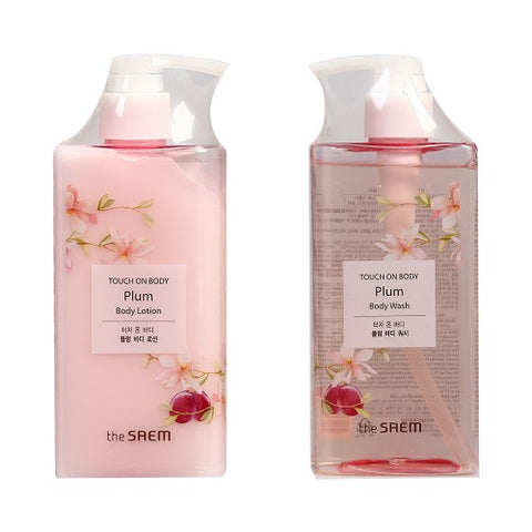 THESAEM / 1+1 Touch On Body Wash + Body Lotion - 300ml