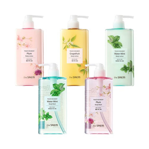 THESAEM  1+1 Touch On Body Wash + Body Lotion - 300ml