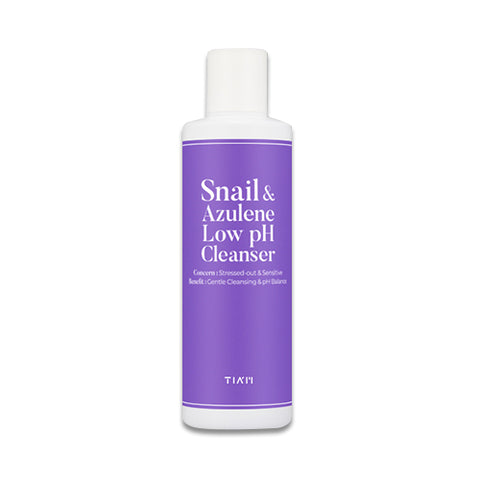 TIA'M  Snail & Azulene Low pH Cleanser - 200ml