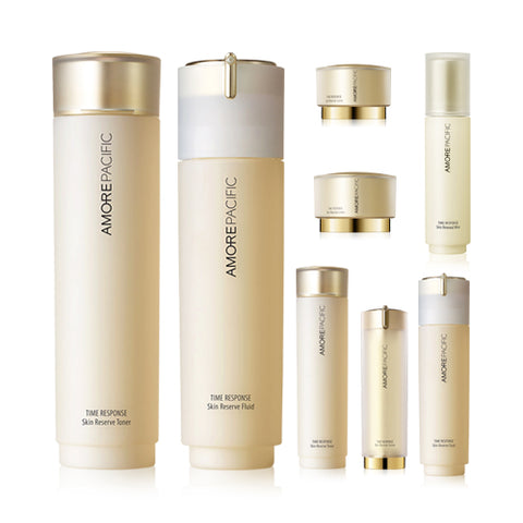 TIME RESPONSE  Skin Reserve 2 Set - 1pack (8items)