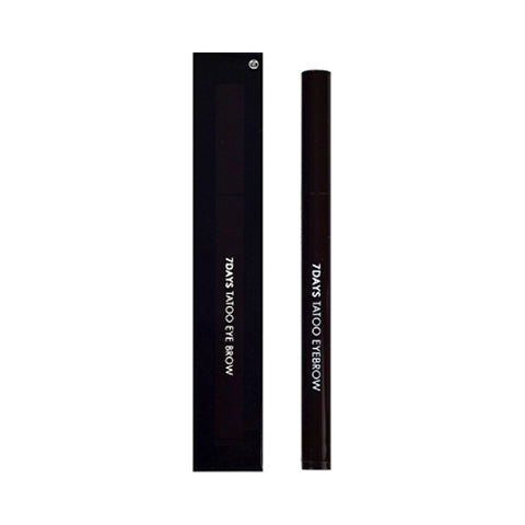 TONYMOLY  7DAYS Tatoo Eye Brow - 0.8ml No.02 Dark Brown