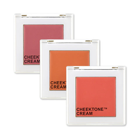 TONYMOLY  Cheektone Single Blusher (Cream) - 3.5g