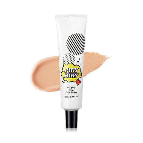 TONYMOLY / Pikybiky Art Pop Cover Foundation - 30g (SPF38 PA+++)