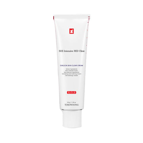 TOSOWOONG  Red Clinic Ovalicin Skin Clear Cream - 50g