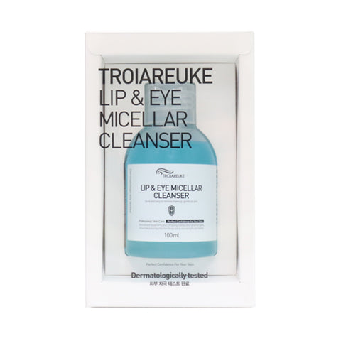 Troiareuke  Lip & Eye Micellar Cleanser - 100ml