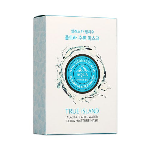 TRUE ISLAND  Alaska Glacier Water Ultra Moisture Mask - 1pack (10pcs)