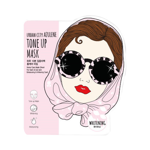 URBAN DOLLKISS  Urban City Azulene Tone Up Mask - 1pcs
