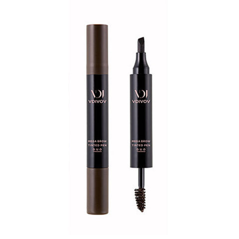 VDIVOV / Mega Brow Tinted Pen Duo - 6.5g (Tint Pen 2.5g + Brow Mascara 4g)