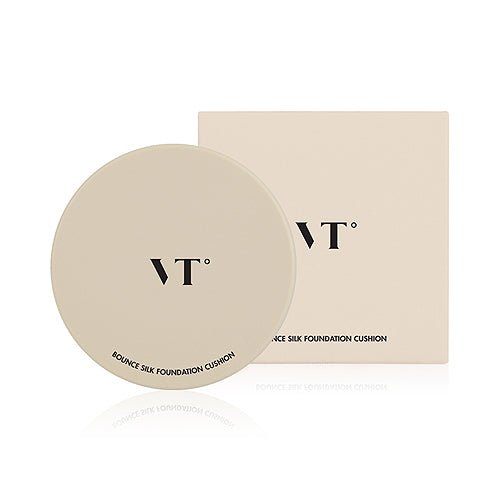 VT  Bounce Silk Foundatiion Cushion - 15g (SPF50+ PA+++) (EXP 2019.08.31)