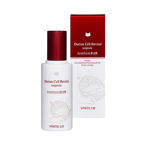 WHITE CAT  Durian Cell Revital Ampoule - 50ml