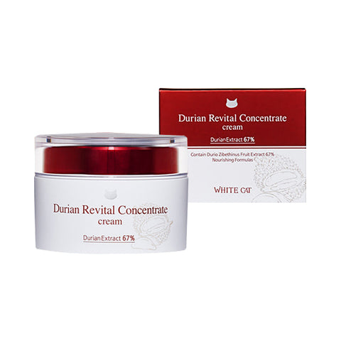 WHITE CAT  Durian Revital Concentrate Cream - 50g
