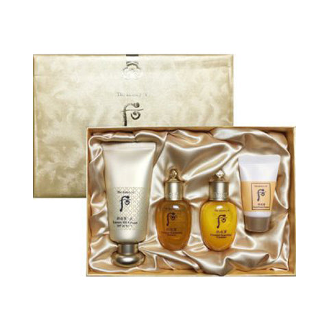 THE WHOO  Gongjinhyang Mi Luxury BB Cream Special Set - 1pack (4items)