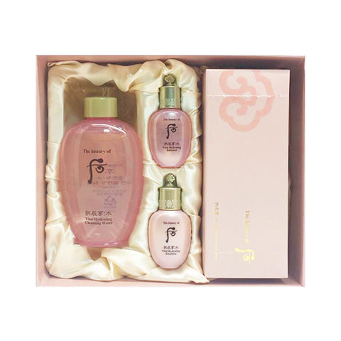 THE WHOO  Gongjinhyang Soo Soo Yeon Hydrating Cleansing Water Set - 1pack (4items)