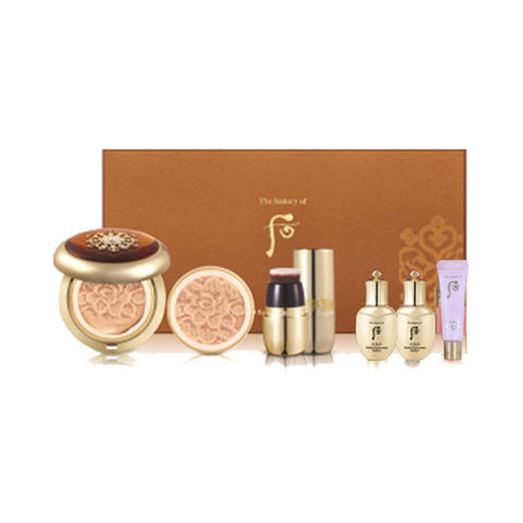 THE WHOO  Radiant Essence Cushion Special Set - 1pack (5items)