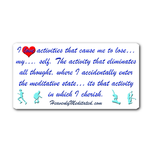 Cherishing Soul Activities - Daily Affirmation Sticker
