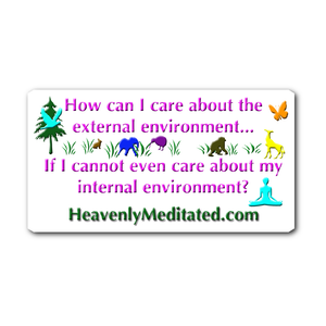 Caring About Our Environments - Daily Affirmation Sticker