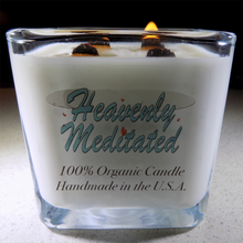 100% Organic Soy Wax Candle - 12 oz - Hand Poured in the U.S.A.