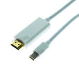 Wavertec 1.8M Mini DP to HDMI Cable Thunderbolt Mini Displayport Male to HDMI Male OEM - wavertec.com - 3
