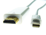 Wavertec 1.8M Mini DP to HDMI Cable Thunderbolt Mini Displayport Male to HDMI Male OEM - wavertec.com - 2