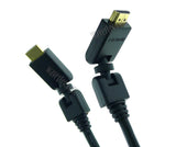 Wavertec 180 Degree Free Swivel Turn HDMI 1.4 Cable 1.8M 6Ft Long - wavertec.com - 1