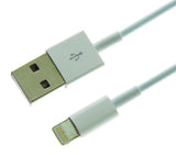 Wavertec 10cm Short Lightning Cable 8 Pin Male to USB Male Data & Charge iPhone 6S 6 OEM - wavertec.com - 5