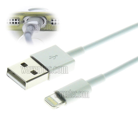 Wavertec 3.3Ft 1M Apple 8 Pin Lightning Cable Data Charge OEM - wavertec.com - 1