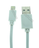 Wavertec 2M 6.5Ft Coarse Lightning Cable Fast Charging Data Sync and Charge Apple 8 Pin Lightning Male to USB Male Cable for iPad Air Mini 4 3 2 iPhone 6S Plus 6 Plus 5 iPod Touch Nano White Cable OEM - wavertec.com - 3