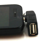 Wavertec Right Angled OTG Adapter Micro USB Male to USB Female - wavertec.com - 1