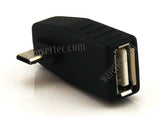 Wavertec Right Angled OTG Adapter Micro USB Male to USB Female - wavertec.com - 3