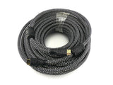 Wavertec Certified 40M HDMI 1.4 Male to Male Cable with Chips 4K x2K 3D Ethernet Meshed - wavertec.com - 2