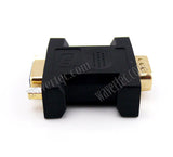 Wavertec Straight VGA Male to Female Extender D-Sub 15 Pin Connector Adapter PC Screw