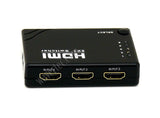 Wavertec 5 in 1 Out HDMI 1.4 1.4B Switch Box  1080P 3D IR Remote Control Hub Mini Size - wavertec.com - 4