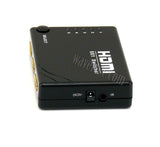 Wavertec 5 in 1 Out HDMI 1.4 1.4B Switch Box  1080P 3D IR Remote Control Hub Mini Size - wavertec.com - 2