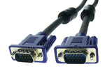 Wavertec 25M 82Ft D-Sub 15 Pin SVGA VGA Long Cable 3+6 Wired 1080P - wavertec.com - 3