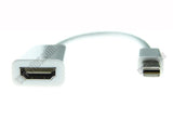 Wavertec Mini DP Male to HDMI Female Short Cable Mini DisplayPort Converter OEM - wavertec.com - 1