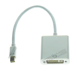 Wavertec Mini DP Thunderbolt Male to 24+5 DVI Female Short Cable Adapter OEM - wavertec.com - 3