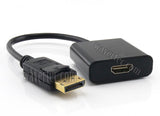 Wavertec DP DisplayPort Male to HDMI Female Short Adapter Cable - wavertec.com - 1