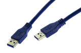 Wavertec 5M 16Ft Male to Male USB Cable High Speed USB3.0 Cable Long Standard USB A Male to USB A Male Long Cable - wavertec.com - 2