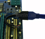 Motherboard USB 2.0 to 3.0 Adapter 9 Pin Female to 20 Pin Male Header Cable USB 3.0 Front Panel to USB 2.0 Motherboard Converter Computer Internal Cable - wavertec.com - 2