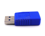 Straight High Speed USB Male to Female Adapter USB 3.0 Extender Standard USB A Computer Connector - wavertec.com - 2