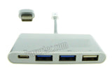 Wavertec USB 3.1 Type C Hub 3 USB A 1 USB C Ports for MacBook - wavertec.com - 1