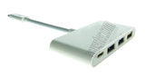 Wavertec USB 3.1 Type C Hub 3 USB A 1 USB C Ports for MacBook - wavertec.com - 2