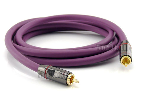 Wavertec 16Ft 5M Coaxial Video Cable RCA Male to RCA Male OFC - wavertec.com - 1