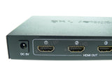 1 In 8 Out HDMI 1.4 Splitter Box 1:8 Multi Screen 3D 1080P HDCP Full HD UK Plug - wavertec.com - 5