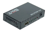 Wavertec 1 in 4 Out HDMI Splitter 1:4 1x4 1080P 3D US Plug 4 Mulit Screen - wavertec.com - 4