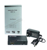 Wavertec 1 in 4 Out HDMI Splitter 1:4 1x4 1080P 3D US Plug 4 Mulit Screen - wavertec.com - 5