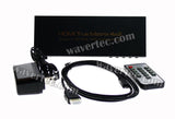 Wavertec 4 in 2 Out HDMI Splitter Switch Matrix 4x2 4K Dolby 7.1 - wavertec.com - 4