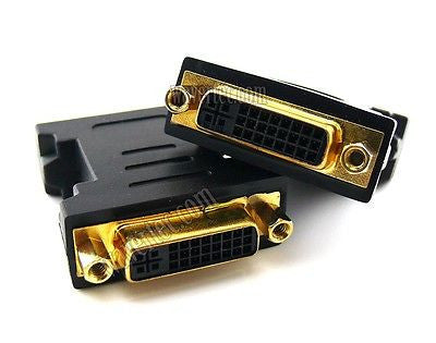 Wavertec 24+5 Pin Dual Link DVI Female to Female Connector Adapter Cable Coupler Extender - wavertec.com